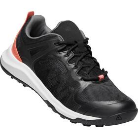 Keen Explr Vent Zapatillas Mujer, black/coral